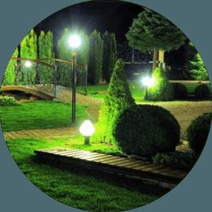 Освітлення саду Львів