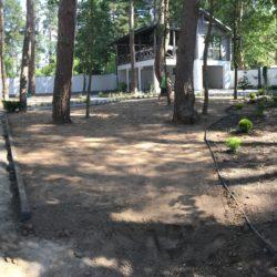 Укладка рулонного газону Брюховичі1