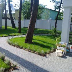 Укладка рулонного газону Брюховичі19