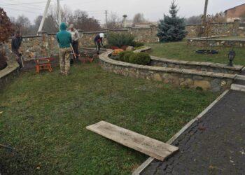 Сіємо газон у Львові (2)