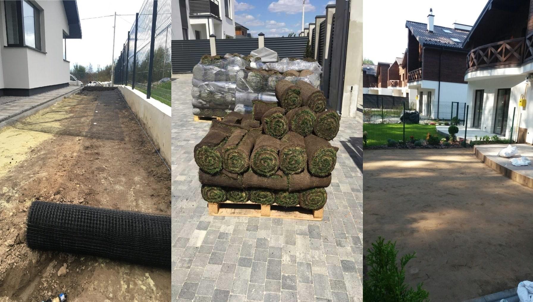 Підготовка ділянки до укладки газону-min